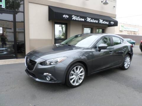 2016 Mazda MAZDA3 for sale at Wilson-Maturo Motors in New Haven Ct CT