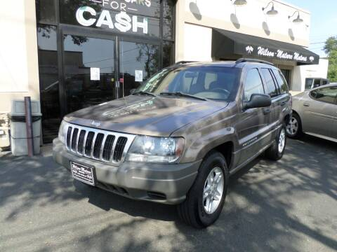 2002 Jeep Grand Cherokee for sale at Wilson-Maturo Motors in New Haven Ct CT