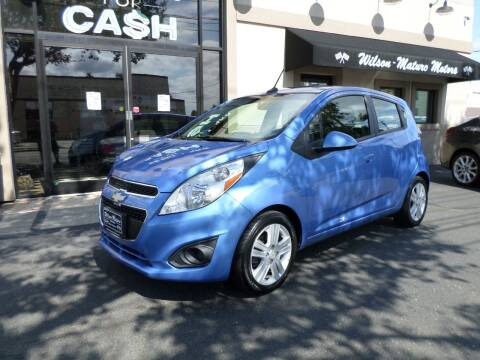 2013 Chevrolet Spark for sale at Wilson-Maturo Motors in New Haven Ct CT