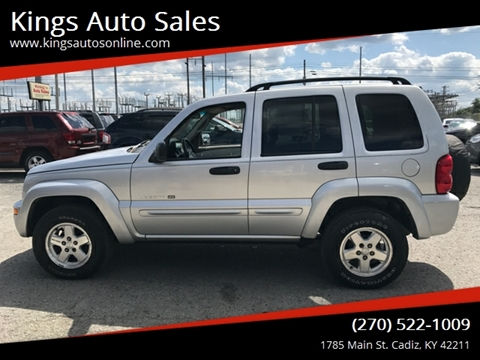 2002 Jeep Liberty for sale in Cadiz, KY