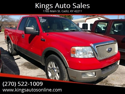 2004 Ford F-150 for sale at Kings Auto Sales in Cadiz KY