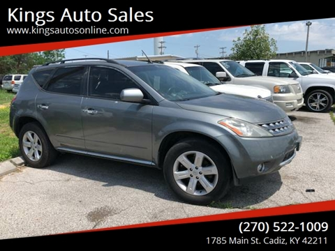2006 Nissan Murano for sale at Kings Auto Sales in Cadiz KY