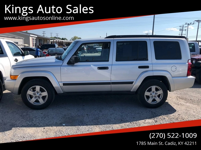 2006 Jeep Commander 4dr SUV 4WD In Cadiz KY - Kings Auto Sales