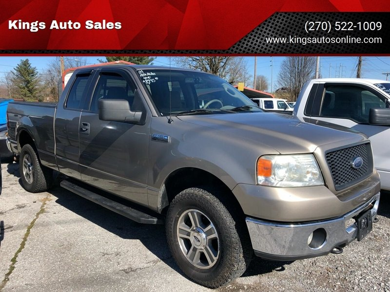 2006 Ford F-150 XLT 4dr SuperCab 4WD Styleside 5.5 ft. SB ...