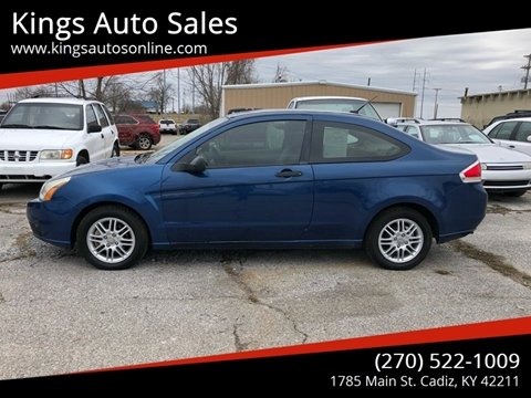 2008 Ford Focus for sale at Kings Auto Sales in Cadiz KY