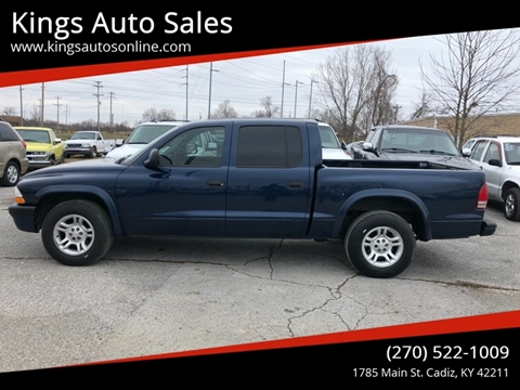 2003 Dodge Dakota for sale at Kings Auto Sales in Cadiz KY