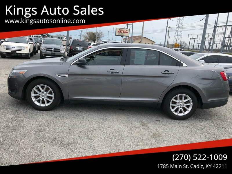 2014 Ford Taurus SE 4dr Sedan In Cadiz KY - Kings Auto Sales