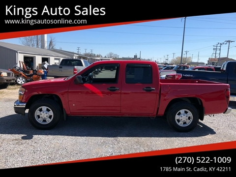 2008 GMC Canyon for sale in Cadiz, KY