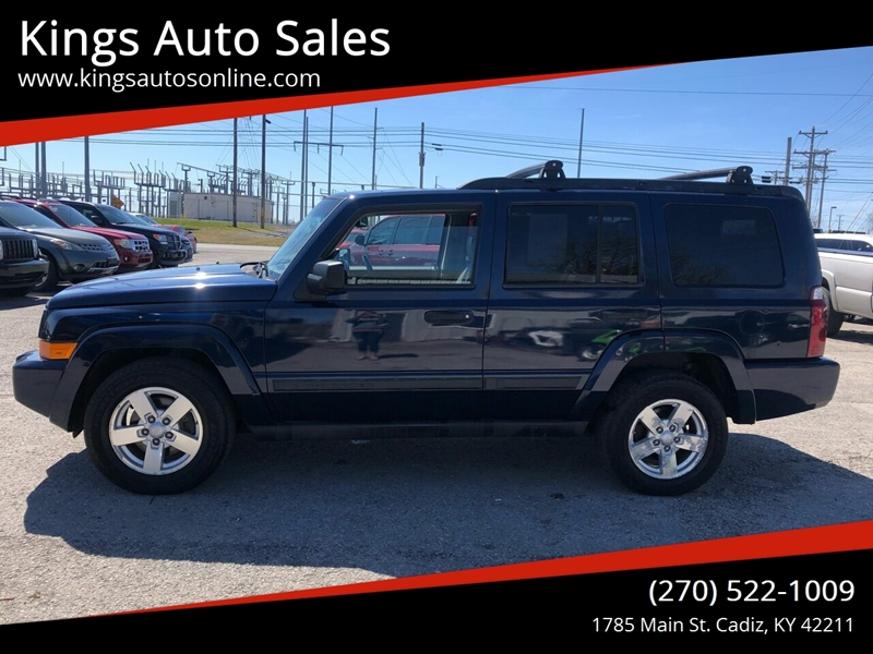 2006 Jeep Commander 4dr Suv 4wd In Cadiz Ky Kings Auto Sales