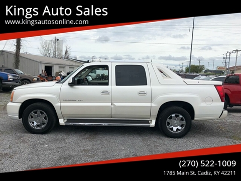 2006 Cadillac Escalade EXT for sale at Kings Auto Sales in Cadiz KY