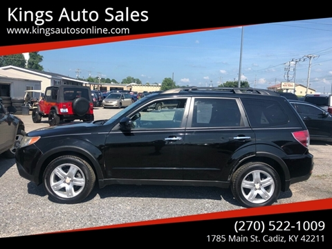 2009 Subaru Forester for sale at Kings Auto Sales in Cadiz KY