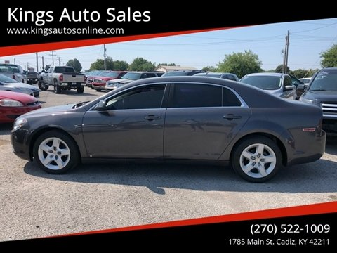 2010 Chevrolet Malibu for sale at Kings Auto Sales in Cadiz KY