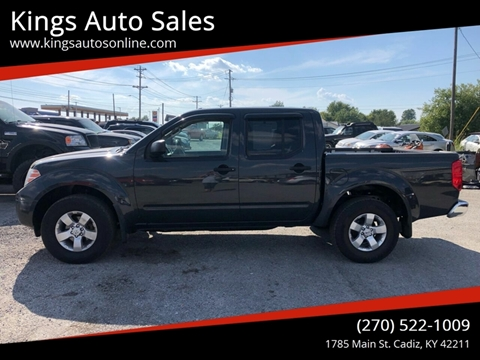 2012 Nissan Frontier for sale at Kings Auto Sales in Cadiz KY