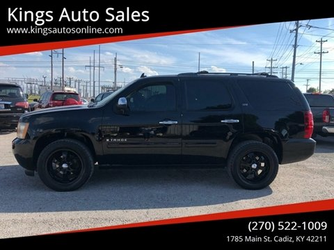 2007 Chevrolet Tahoe for sale at Kings Auto Sales in Cadiz KY