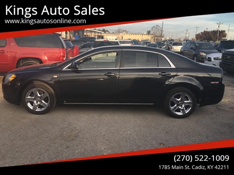 2008 Chevrolet Malibu for sale at Kings Auto Sales in Cadiz KY