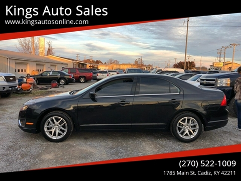 2012 Ford Fusion for sale at Kings Auto Sales in Cadiz KY