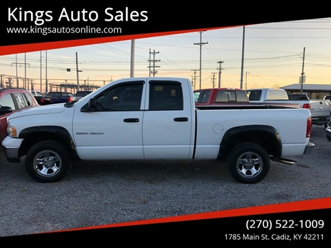 2003 Dodge Ram Pickup 1500 for sale at Kings Auto Sales in Cadiz KY