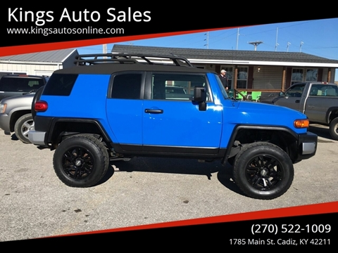 2007 Toyota FJ Cruiser for sale at Kings Auto Sales in Cadiz KY