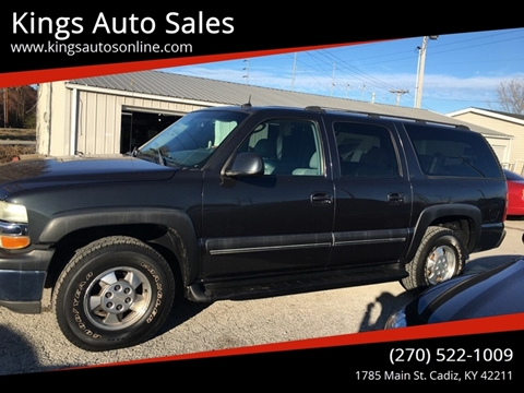 2003 Chevrolet Suburban for sale at Kings Auto Sales in Cadiz KY