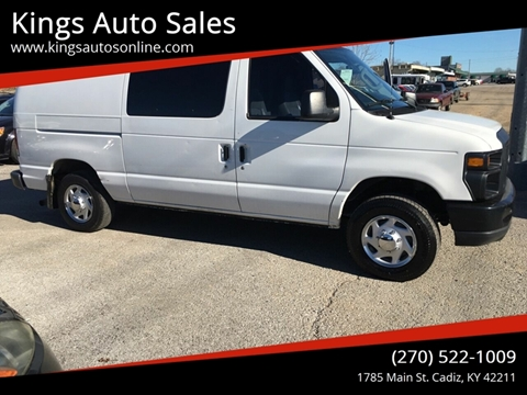 2012 Ford E-Series Cargo for sale at Kings Auto Sales in Cadiz KY