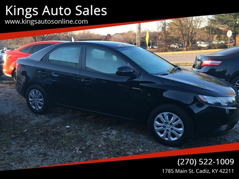 2012 Kia Forte for sale at Kings Auto Sales in Cadiz KY