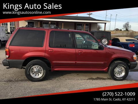 2000 Ford Explorer for sale at Kings Auto Sales in Cadiz KY