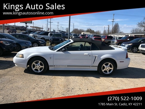 2001 Ford Mustang for sale at Kings Auto Sales in Cadiz KY
