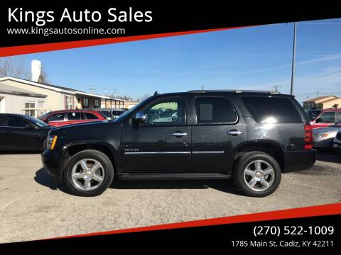 2011 Chevrolet Tahoe for sale at Kings Auto Sales in Cadiz KY