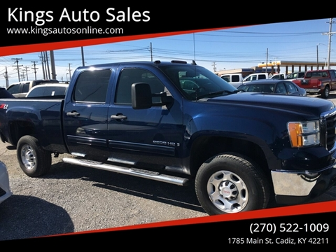 2009 GMC Sierra 2500HD for sale at Kings Auto Sales in Cadiz KY