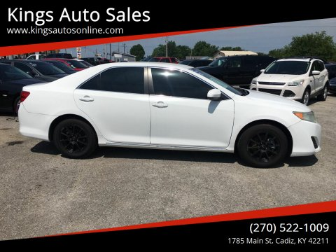 2012 Toyota Camry for sale at Kings Auto Sales in Cadiz KY