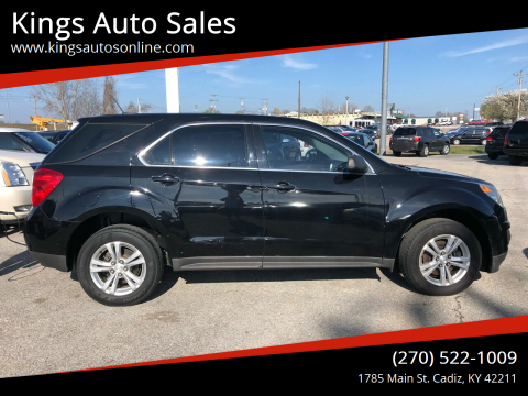 2015 Chevrolet Equinox for sale at Kings Auto Sales in Cadiz KY