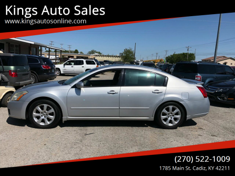 2007 Nissan Maxima for sale at Kings Auto Sales in Cadiz KY