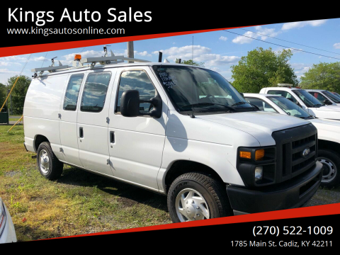 2010 Ford E-Series Cargo for sale at Kings Auto Sales in Cadiz KY