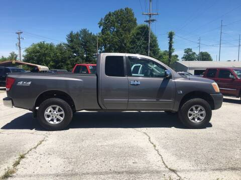 2004 Nissan Titan for sale at Kings Auto Sales in Cadiz KY