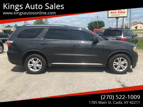 2011 Dodge Durango for sale at Kings Auto Sales in Cadiz KY