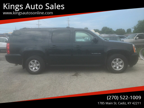 2011 GMC Yukon XL for sale at Kings Auto Sales in Cadiz KY