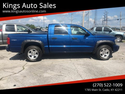 2010 Dodge Dakota for sale at Kings Auto Sales in Cadiz KY