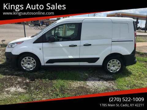 2015 Ford Transit Connect Cargo for sale at Kings Auto Sales in Cadiz KY