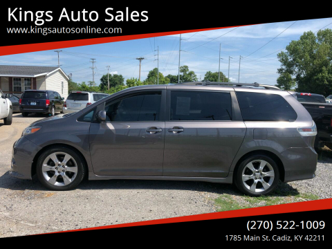 2012 Toyota Sienna for sale at Kings Auto Sales in Cadiz KY