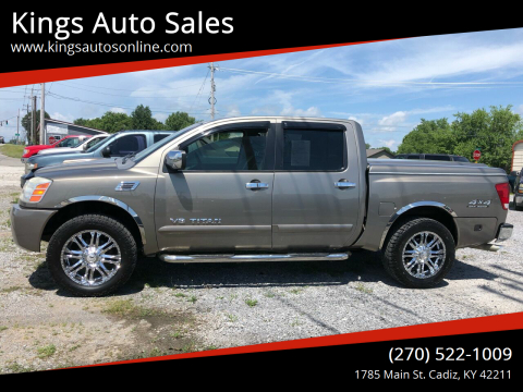 2006 Nissan Titan for sale at Kings Auto Sales in Cadiz KY