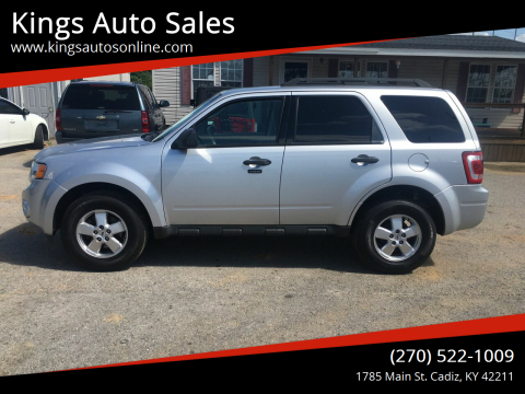 2012 Ford Escape for sale at Kings Auto Sales in Cadiz KY