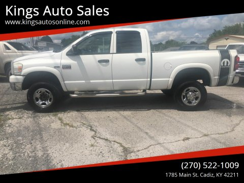 2008 Dodge Ram Pickup 2500 for sale at Kings Auto Sales in Cadiz KY