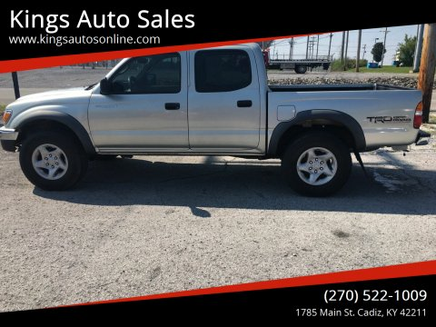 2004 Toyota Tacoma for sale at Kings Auto Sales in Cadiz KY