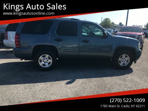2008 Chevrolet Tahoe for sale at Kings Auto Sales in Cadiz KY