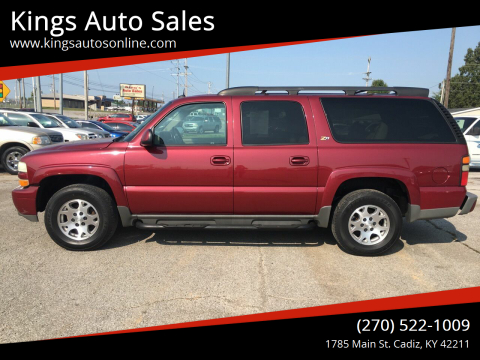2004 Chevrolet Suburban for sale at Kings Auto Sales in Cadiz KY