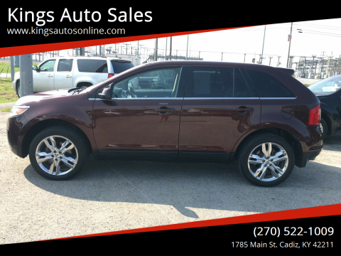 2012 Ford Edge for sale at Kings Auto Sales in Cadiz KY