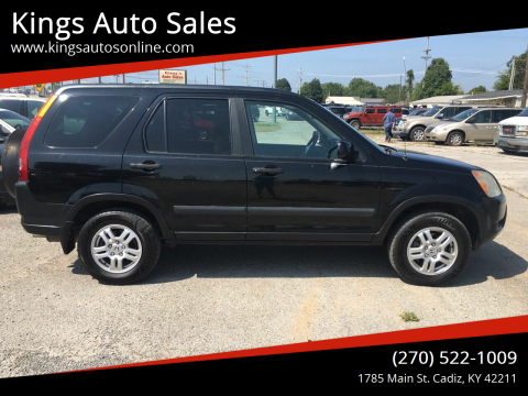 2003 Honda CR-V for sale at Kings Auto Sales in Cadiz KY