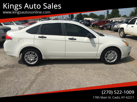 2010 Ford Focus for sale at Kings Auto Sales in Cadiz KY