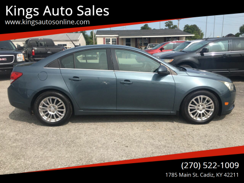 2012 Chevrolet Cruze for sale at Kings Auto Sales in Cadiz KY