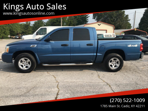 2006 Dodge Dakota for sale at Kings Auto Sales in Cadiz KY